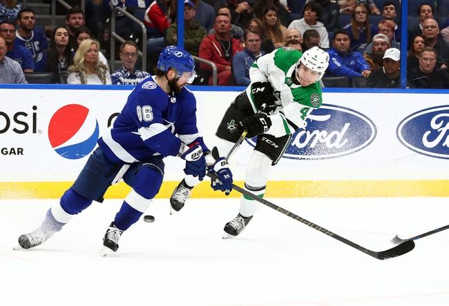 Dallas Stars vs. Tampa Bay Lightning - 1/27/20 NHL Pick, Odds & Prediction