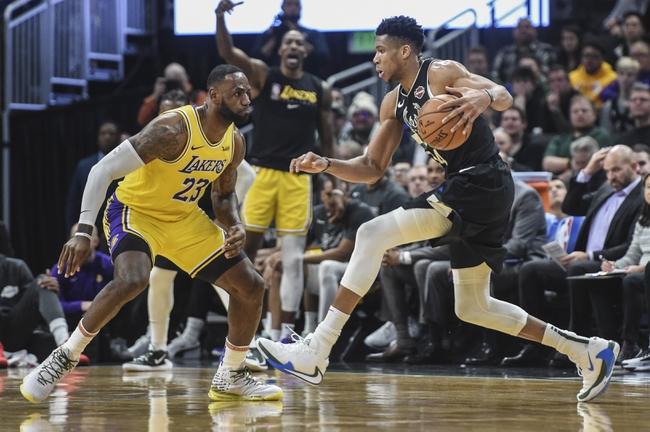 Los Angeles Lakers vs. Milwaukee Bucks - 3/6/20 NBA Pick ...