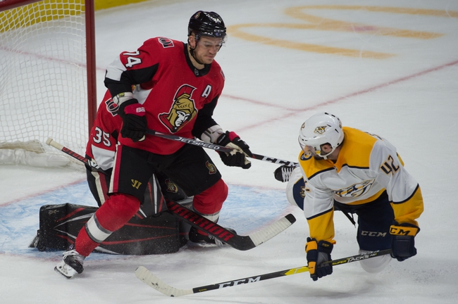Nashville Predators vs. Ottawa Senators - 2/25/20 NHL Pick, Odds, and Prediction