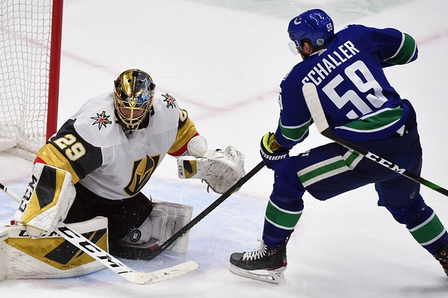 Vegas Golden Knights vs. Vancouver Canucks - 8/23/20 NHL Pick, Odds, and Prediction