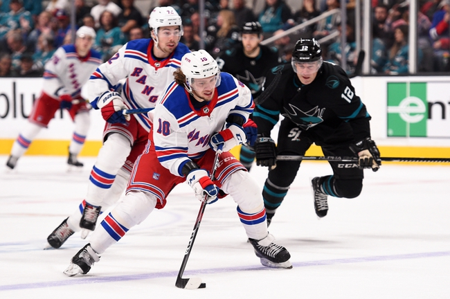New York Rangers vs. San Jose Sharks - 2/22/20 NHL Pick, Odds, and Prediction