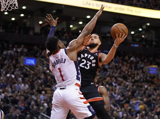Toronto Raptors vs. Washington Wizards - 1/17/20 NBA Pick, Odds, and Prediction