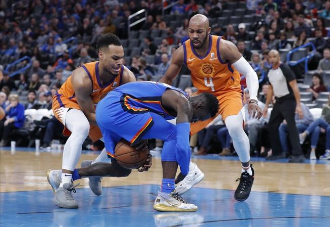 Phoenix Suns vs. Oklahoma City Thunder - 1/31/20 NBA Pick, Odds, and Prediction
