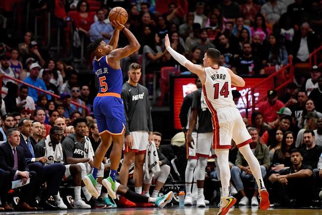 New York Knicks vs. Miami Heat - 1/12/20 NBA Pick, Odds & Prediction