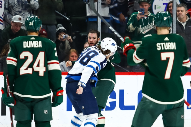 Minnesota Wild vs. Winnipeg Jets - 1/4/20 NHL Pick, Odds, and Prediction