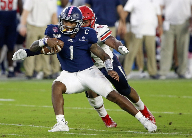 Georgia Southern at Louisiana-Lafayette - 9/26/20 College Football Picks and Prediction