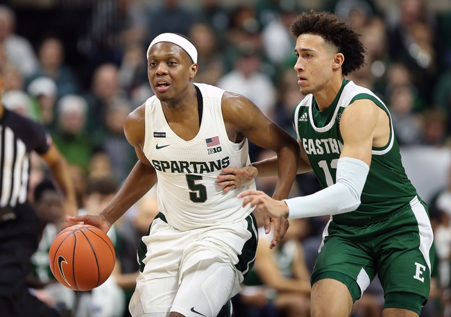 Michigan State vs Eastern Michigan College Basketball Picks, Odds, Predictions 11/25/20