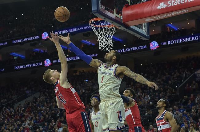 Washington Wizards vs. Philadelphia 76ers - 8/5/20 NBA Pick, Odds, and Prediction