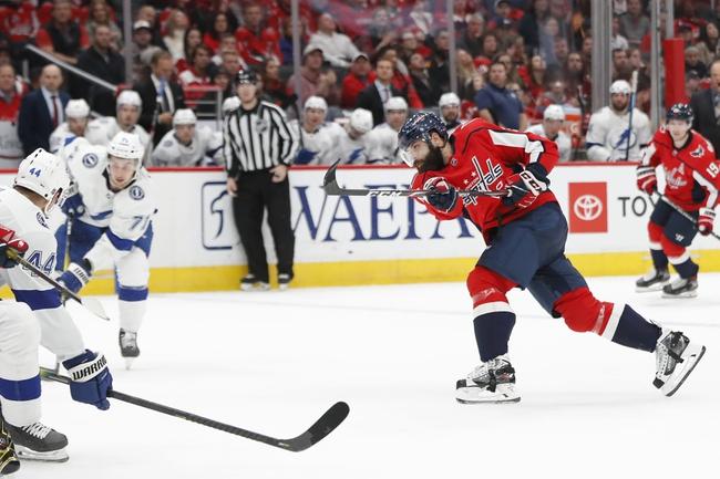Tampa Bay Lightning vs. Washington Capitals - 8/3/20 NHL Pick, Odds, and Prediction