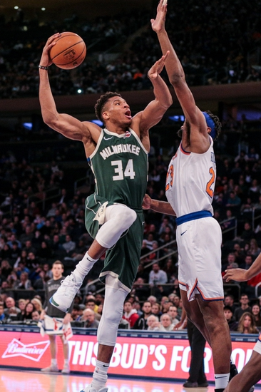 Milwaukee Bucks vs. New York Knicks - 1/14/20 NBA Pick, Odds & Prediction