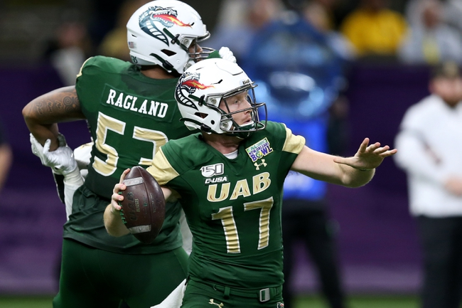 UAB 2020 Win Total - College Football Pick and Prediction