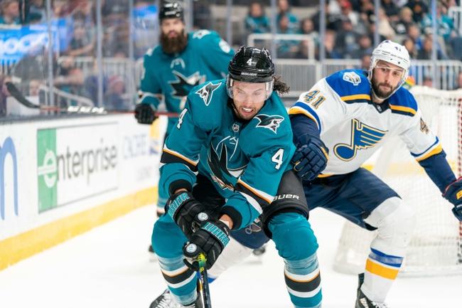 St. Louis Blues vs. San Jose Sharks - 1/7/20 NHL Pick, Odds & Prediction