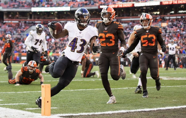 Baltimore Ravens vs. Cleveland Browns - 9/13/20 NFL Pick, Odds, and Prediction