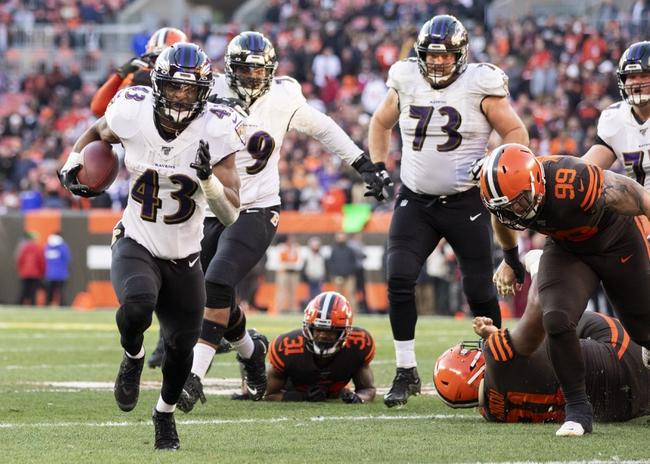 Cleveland Browns at Baltimore Ravens - 9/13/20 NFL Picks and Prediction