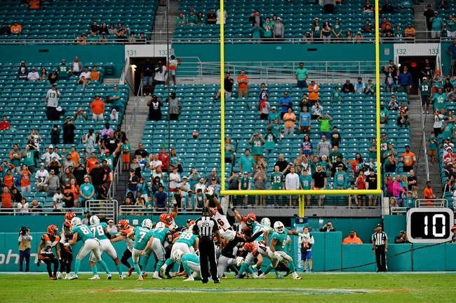 Cincinnati Bengals vs. Miami Dolphins - 4/28/20 Madden20 NFL Sim Pick, Odds, and Prediction