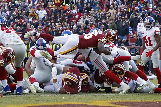 New York Giants at Washington Redskins - 5/17/20 Madden 20 Sim Classic NFL Pick, Odds, and Prediction