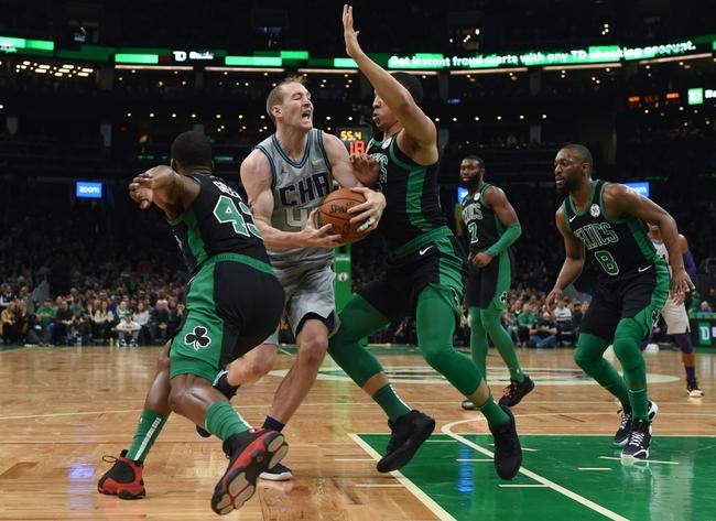 Charlotte Hornets vs. Boston Celtics - 12/31/19 NBA Pick, Odds, and Prediction