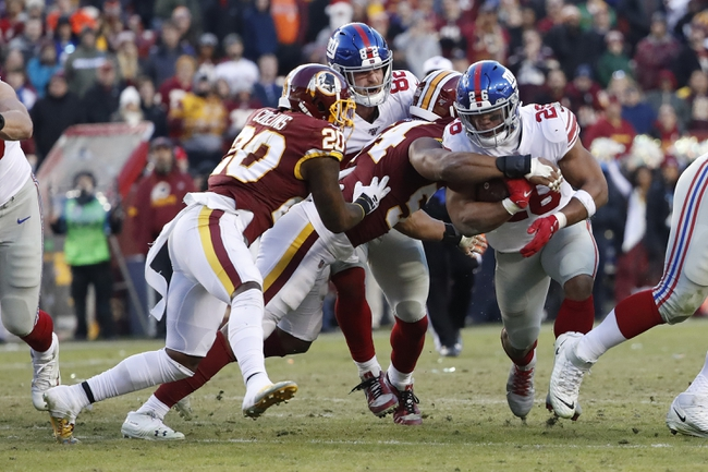 Washington Redskins vs. New York Giants - 5/5/20 Madden20 NFL Sim Pick, Odds, and Prediction