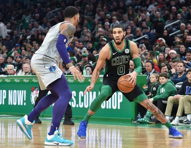Charlotte Hornets vs. Boston Celtics - 12/31/19 NBA Pick, Odds & Prediction