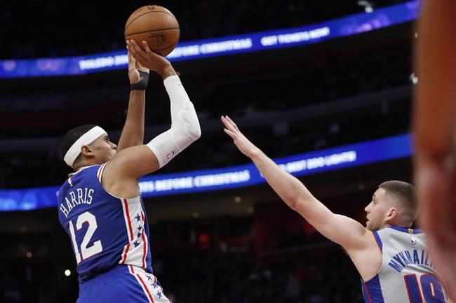 Detroit Pistons at Philadelphia 76ers - 3/11/20 NBA Picks and Prediction