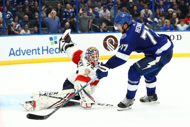 Florida Panthers vs. Tampa Bay Lightning - 7/29/20 NHL Pick and Prediction
