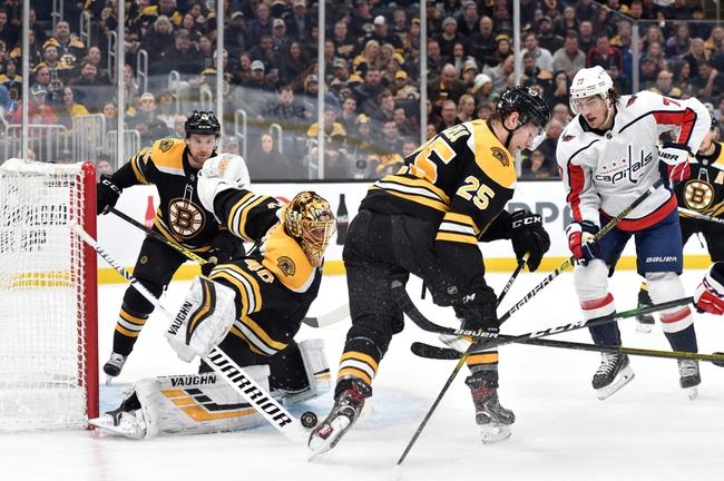 Washington Capitals vs. Boston Bruins - 8/9/20 NHL Pick, Odds, and Prediction