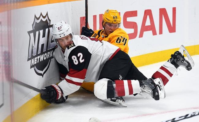 Nashville Predators vs. Arizona Coyotes - 8/2/20 NHL Pick, Odds, and Prediction