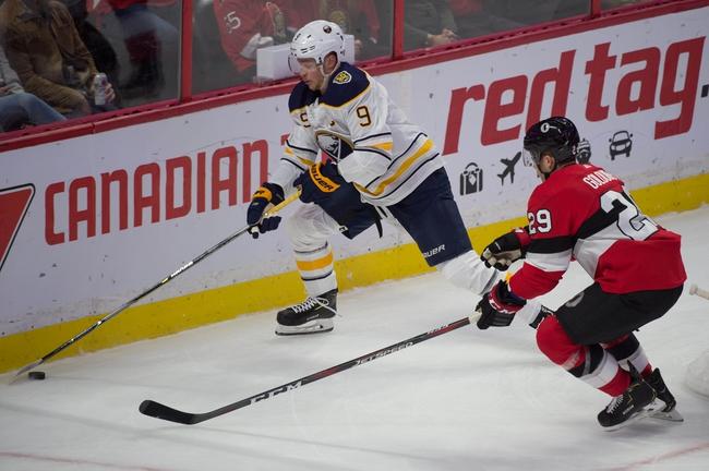 Buffalo Sabres vs. Ottawa Senators - 1/28/20 NHL Pick, Odds, and Prediction