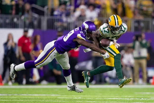 Minnesota Vikings vs. Green Bay Packers - 9/13/20 NFL Pick, Odds, and Prediction