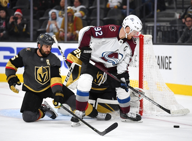 Colorado Avalanche vs. Vegas Golden Knights - 8/8/20 NHL Pick, Odds, and Prediction