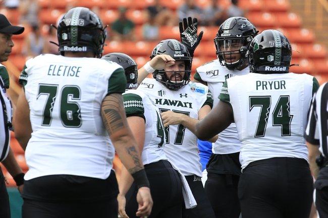 Hawaii 2020 Win Total - College Football Pick and Prediction