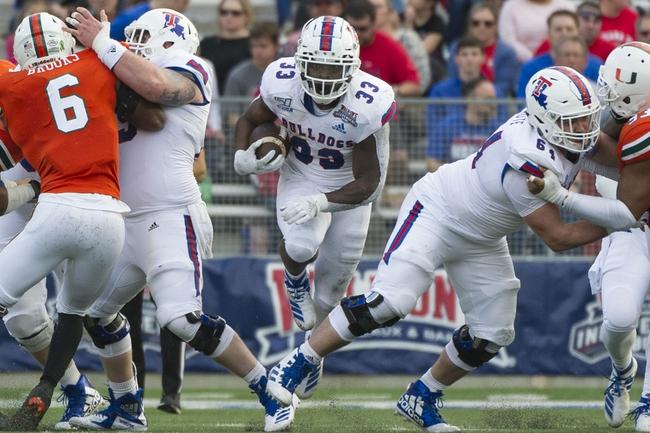 Louisiana Tech Bulldogs 2020 Win Total - College Football Pick, Odds and Prediction