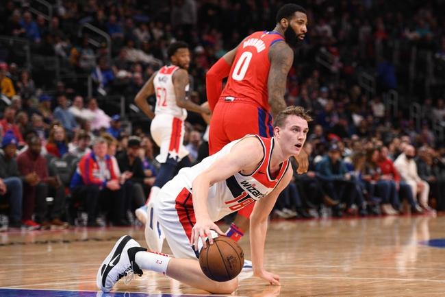 Washington Wizards vs. Detroit Pistons - 1/20/20 NBA Pick, Odds, and Prediction
