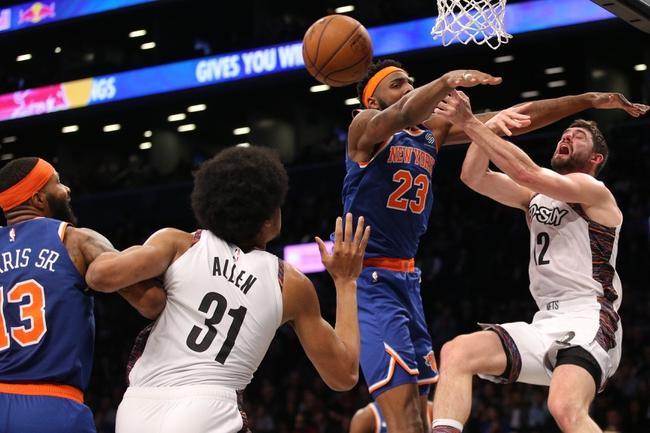 New York Knicks vs. Brooklyn Nets - 1/26/20 NBA Pick, Odds & Prediction