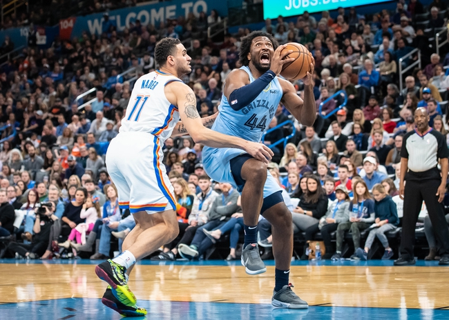 Memphis Grizzlies vs. Oklahoma City Thunder - 8/7/20 NBA Pick, Odds, and Prediction