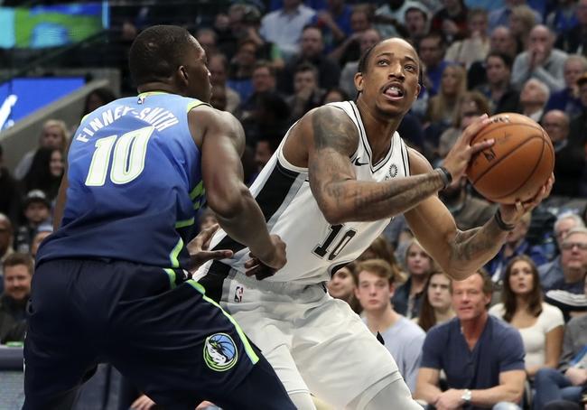 San Antonio Spurs vs. Dallas Mavericks - 2/26/20 NBA Pick, Odds, and Prediction