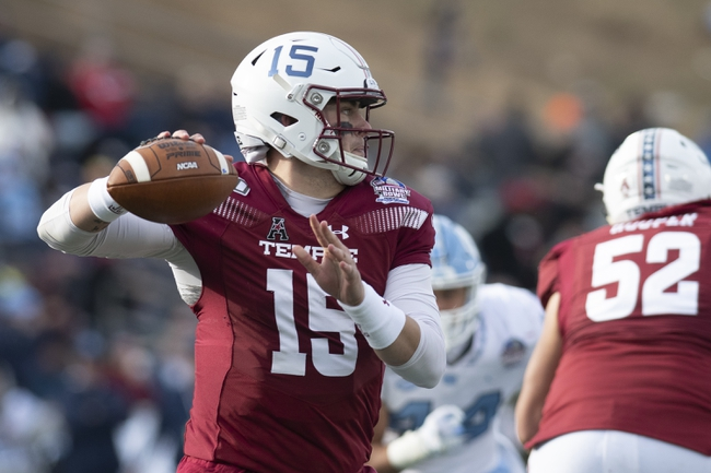 Temple 2020 Win Total - College Football Pick and Prediction