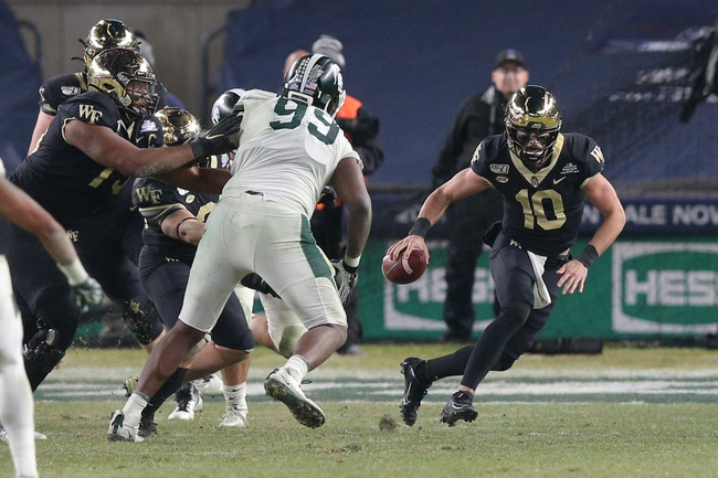 Miami (FL) at Wake Forest - 10/9/20 Early look College Football GOY Picks and Predictions