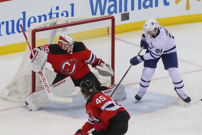 Toronto Maple Leafs vs. New Jersey Devils - 1/14/20 NHL Pick, Odds, and Prediction