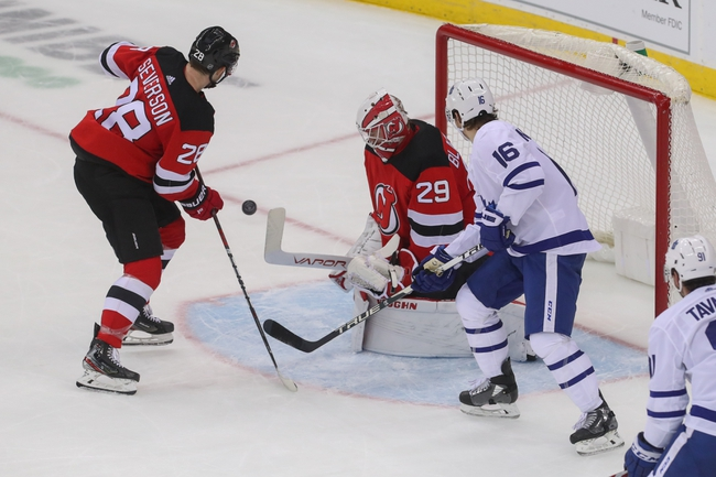 Toronto Maple Leafs vs. New Jersey Devils - 1/14/20 NHL Pick, Odds & Prediction