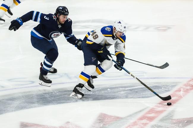 St. Louis Blues vs. Winnipeg Jets - 12/29/19 NHL Pick, Odds & Prediction