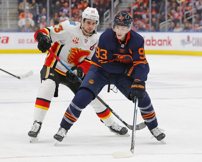 Calgary Flames vs. Edmonton Oilers - 1/11/20 NHL Pick, Odds & Prediction