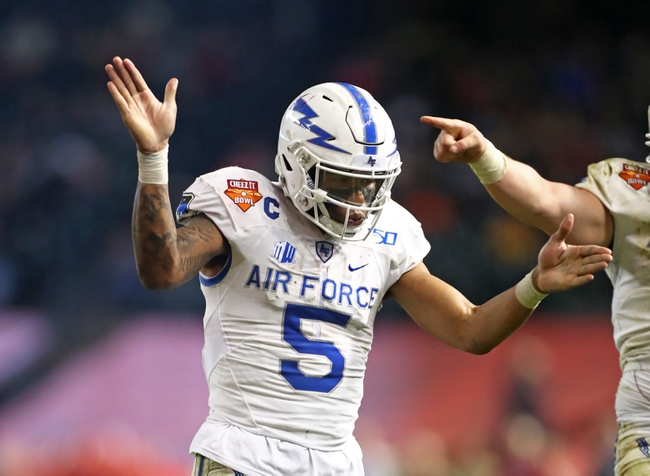 Air Force Falcons 2020 Win Total - College Football Pick, Odds, and Prediction