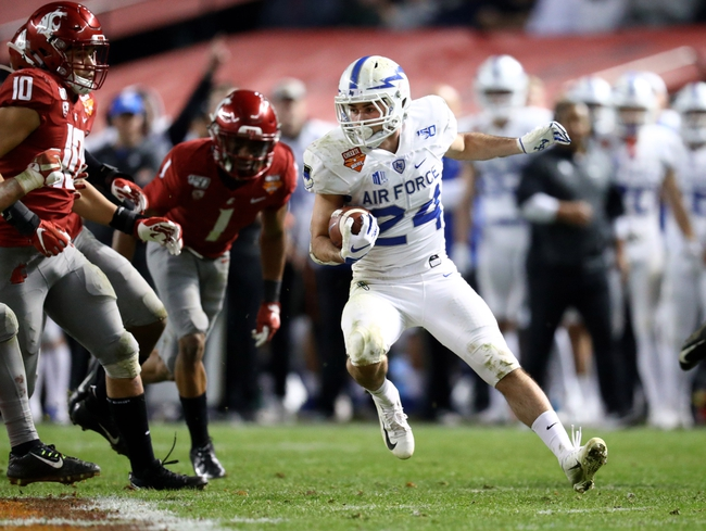 Air Force at San Jose State - 10/24/20 College Football Picks and Prediction
