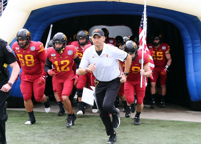 Iowa State Cyclones 2020 Win Total - College Football Pick, Odds and Prediction