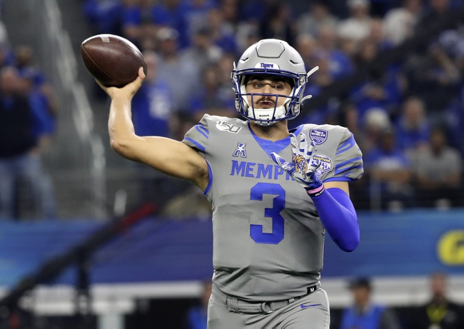 Temple at Memphis: 10/24/20 College Football Picks and Prediction