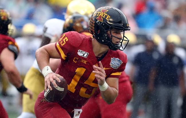 College Football Picks: TCU vs. Iowa State  9/26/20  Odds, and Prediction