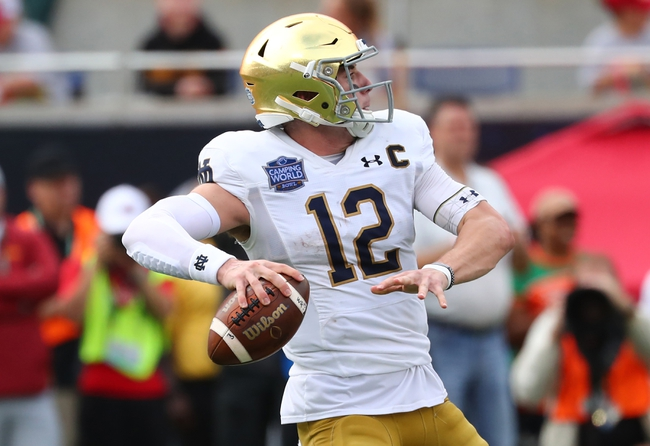 Notre Dame  2020 Win Total - College Football Pick and Prediction