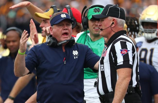 Notre Dame vs. Duke - 9/12/20 College Football Pick, Odds, and Prediction