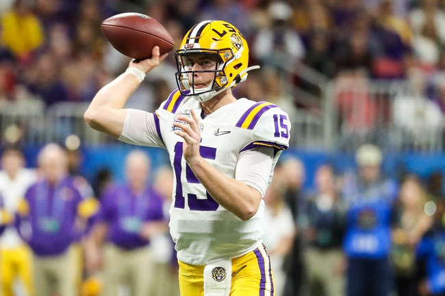 LSU 2020 Win Total - College Football Pick and Prediction